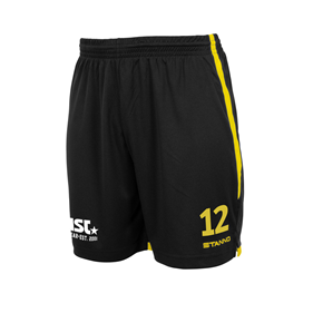STANNO FOCUS MATCHSHORTS BLACK-YELLOW L