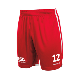 STANNO FOCUS MATCHSHORTS RED-WHITE L