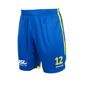 STANNO FOCUS MATCHSHORTS ROYAL-YELLOW L