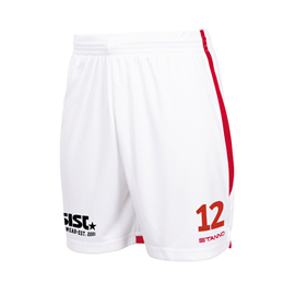 STANNO FOCUS MATCHSHORTS WHITE-RED L