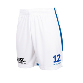 STANNO FOCUS MATCHSHORTS WHITE-ROYAL L