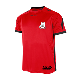 TEAMRULLEN DRIVE RED-BLACK L