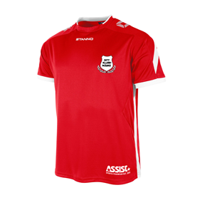 TEAMRULLEN DRIVE RED-WHITE L
