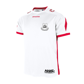TEAMRULLEN DRIVE WHITE-RED L