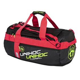 UNIHOC GEARBAG CRIMSON LINE SMALL BLACK