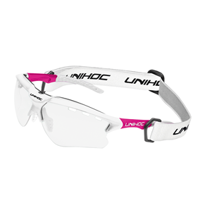 UNIHOC EYEWEAR X-RAY SENIOR WHITE/SERISE