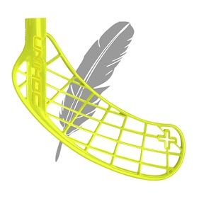 UNIHOC PLAYER+ FEATHER LIGHT LIME, MEDIUM LEFT