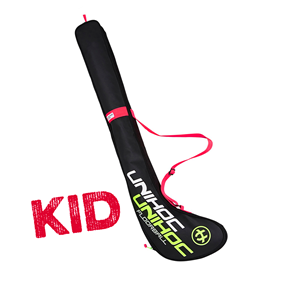 UNIHOC STICK COVER CRIMSON LINE KID 70-75CM BLACK
