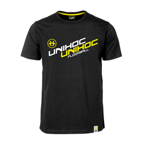 UNIHOC T-SHIRT MELLOW BLACK S