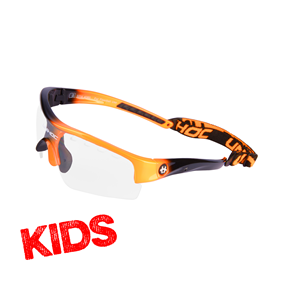 UNIHOC VICTORY KIDS NEON ORANGE/BLACK