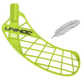 UNIHOC UNITY FEATHER LIGHT GRASS GREEN, MEDIUM RIGHT