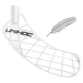UNIHOC UNITY FEATHER LIGHT WHITE, MEDIUM LEFT