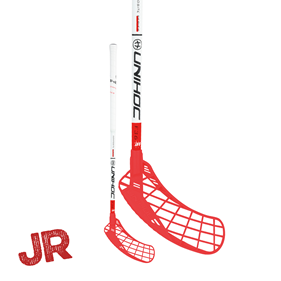 UNIHOC EPIC YOUNGSTER 36 JR WH/RED 70CM LEFT