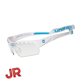 UNIHOC EYEWEAR VICTORY JUNIOR WHITE/BLUE