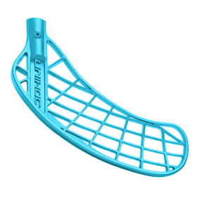 UNIHOC PLAYER MEDIUM ICE BLUE RIGHT