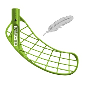 UNIHOC REPLAYER FEATHER LIGHT GRASS GREEN, MEDIUM RIGHT