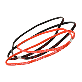 UNIHOC HAIRBAND TOTTI 2PCS (RED + BLACK)