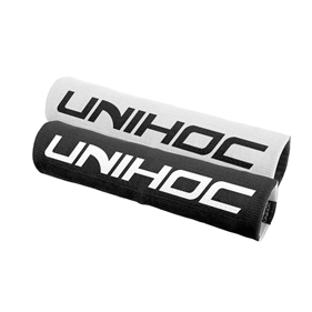 UNIHOC WRISTBAND MAXIMUS BLACK/WHITE 25CM