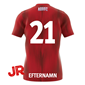 ADIDAS TIRO 19 JR JERSEY POWER RED 116 CL