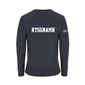 ASSIST STHLM SWEATSHIRT 2.0 MELANGE NAVY L