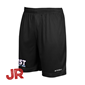 ASSIST TEAM SHORTS JR SVARTA 128 CL