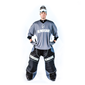 BLINDSAVE GOALIE JERSEY GREY L