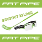 FATPIPE STARTKIT 33 18-19 LIME 80CM LEFT