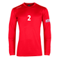STANNO FIELD SHIRT LS RED L