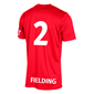 STANNO FIELD SHIRT RED L