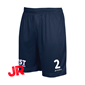 STANNO FIELD SHORTS JR NAVY 128 CL