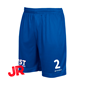 STANNO FIELD SHORTS JR ROYAL 128 CL