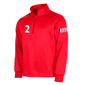 STANNO FIELD TOP HALF ZIP RED L