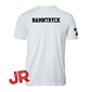 ASSIST A-FUNCTIONAL TEE WHITE JR 120 CL