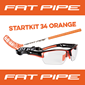 FATPIPE STARTKIT 34 ORANGE 65CM LEFT